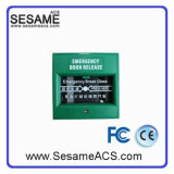 Emergency Exit Button for Firefighting Alarm (SAGreen)