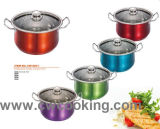 Stainless Steel Wide Edge Casserole