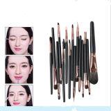 15PCS Eyeshadow Eyeline Eyebrow Cosmetic Tool Kits Makeup Brush