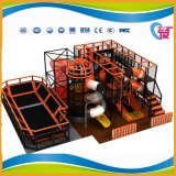 2017 New Design Indoor Playground Equipment with Trampoline Park (A-15301)
