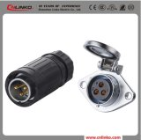 Ya20 Waterproof IP65 3 Pin Power Connector/Electrical Connectors
