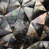 Black Lip Mop Shell Triangle Mosaic Tile