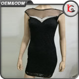 2017 High Quality Summer Women Dress Fashion Brand Professional Lady Formal Lace Dress