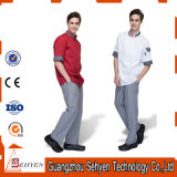 Custom Sets of Cotton Middle Length Sleeve Chef Uniform