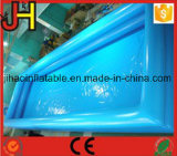 Double Tubes Inflatable Plastic Swimming Pool for Sale