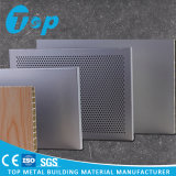 Wooden Finish Perforated Aluminum Honeycomb Panel for Acoustic Partition