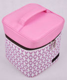 Pink Big Capacity Portable Insulated Cooler Bag for Picnic