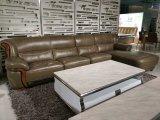 Modern Living Room Genuine Leather Sofa (SBL-1702)