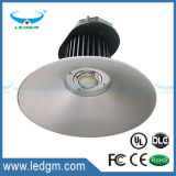 2017 Hot Sale New Type Competitive Price 80W 100W 150W 200W IP 65 Warranty 5 Years LED Round Fins High Bay Light