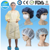CE/ISO13485 Certificated Disposable Nonowven Isolation Gown