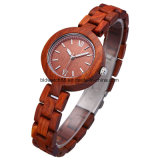 Fashion Women′s Ladies Wooden Bracelet Watches for Small Wrist