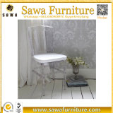 Cheap Crystal Transparent Clear Resin Wedding Napoleon Chair