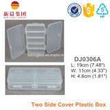 Two Side Cover Plastic Gadget Clear Box