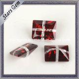 Rectangle Shape Cross Multi Color CZ Stone