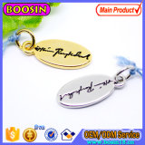 Wholesale Customized Logo Jewelry Tag Metal Logo Charm