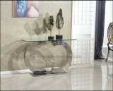Top Modern Stainless Steel Glass Dining Table