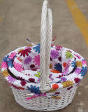 2017 New Easter Colourful Wicker Gift Baskets