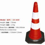 70cm Spain Standard PVC Traffic Cones