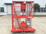6-12m Double Masts Aluminum Lift with CE Certificate