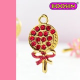 Living Lollipop Charms / Kids Jewelry Sweet Bonbon Charm