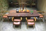 Solid Wood Dining Table for Home with Straight Edge (SD-004)