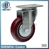 "3"" Polyurethane Swivel Caster Wheel for Medium Duty"