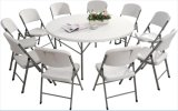 6FT/183cm High Quality Plastic Folding Round Dining Table