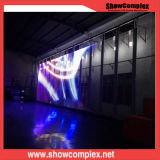 P12 Strip Curtain LED Display Screen with Transparent Panel