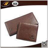 Leather Woman Wallet Simple Design Ladies Wallet (HJ5173)