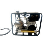 Oil Free Piston Scuba Diving Compressor for Hookah System