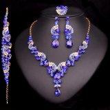Fashion Crystal Wedding Jewelry Sets for Bride