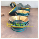 High Manganese Metso Sx400 Cone Crusher Wear Parts Mantle, Concave, Bowl Liners