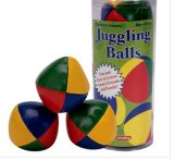 Muli-Color Bead-Stuffed Juggling Balls (PM178)