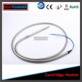 High Power SUS304 Cartridge Heater with Flexible Pipe