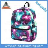 Polyester Middle Student Double Shoulder Satchel Book School Bag Backpack