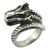 Fashion Cheap Handmade Metal Dragon Rings
