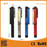 Multi-Functional Pen Shape COB Portable LED Work Light with Magnetic Clip
