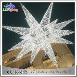 Ce RoHS Outdoor Christmas White Motifstar Motif Decorative Lights