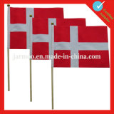 Hand Held Wholesale Advertising Flag with Stick