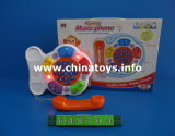 Popular Toy Baby Telephone Plastic Toy (648704)