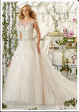 2016 Beaded Ball Gown off-Shoulder Bridal Wedding Dresses Wd2818