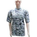 Digital Pattern Camo Men′s T Shirt for Amry