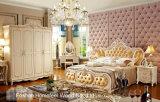 Classical Wooden Bedroom Furniture Set (HF-MG821)