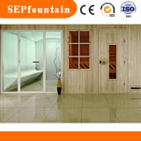 2-6 Person Wooden Culture Wet Sauna Shower Steam Room