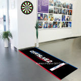 Printed Nylon Electronic Dart Board Stand Mat with Rubber Backing