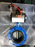 BS/DIN/JIS/ANSI/API Double Flange High Performance Butterfly Valve