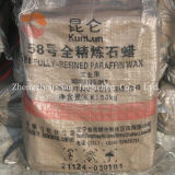 Wholesale Kunlun Fully Refined Paraffin Wax 58-60 Deg. C
