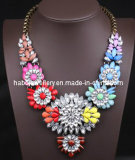 Shourouk Style Rainbow Color Flower Fashion Jewelry (XJW13096)