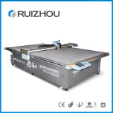CNC No Laser Leather Cutting Machine with Conveyor Worktable