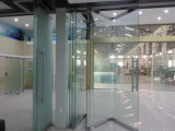 Movable Frameless Glass Wall for Office, Shopping Mall and Hotel